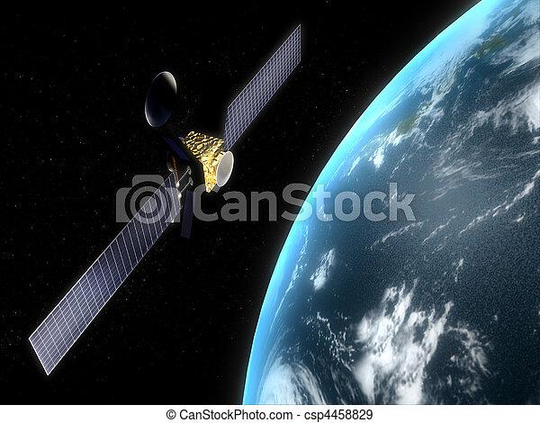 satélite - csp4458829