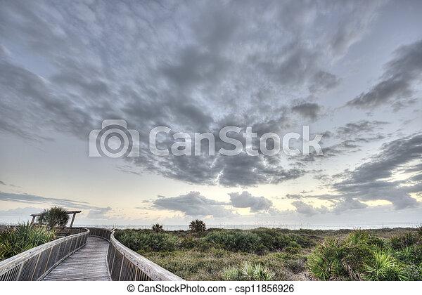Satellite Beach in Florida - csp11856926