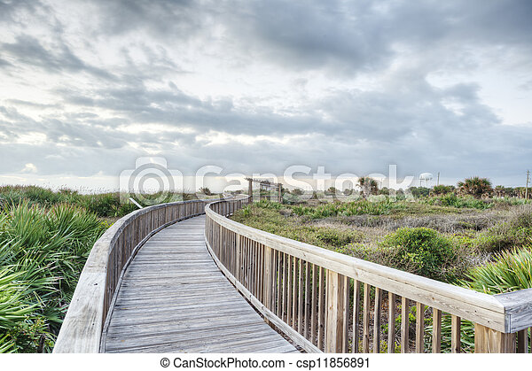 Satellite Beach in Florida - csp11856891