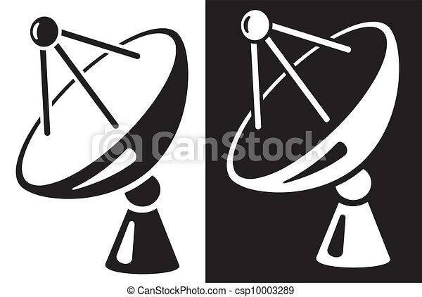 Satellite dish - csp10003289