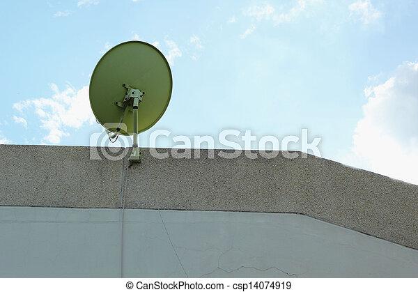 Satellite dish - csp14074919