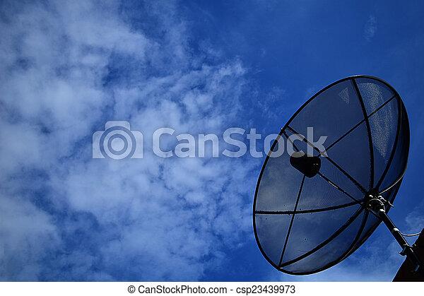 satellite dish - csp23439973
