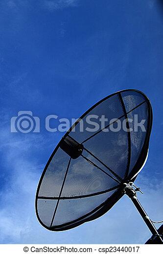 satellite dish - csp23440017