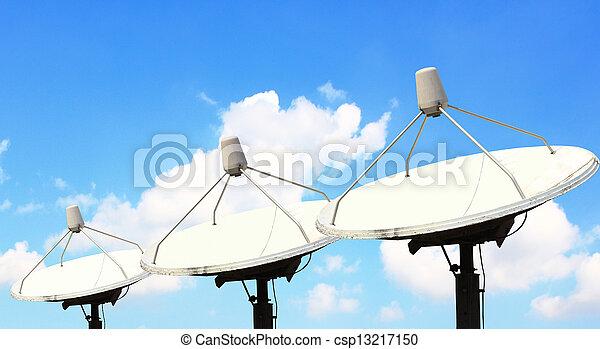 Satellite dish - csp13217150