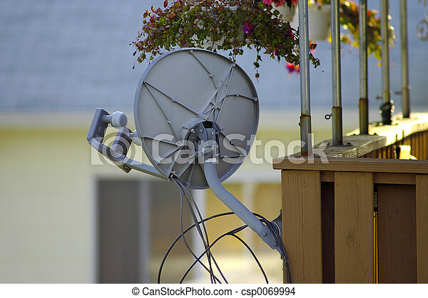 Satellite Dish - csp0069994