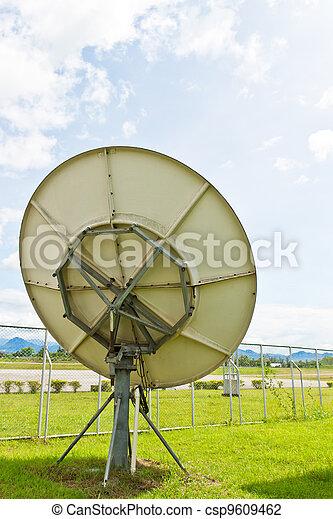 Satellite dish - csp9609462