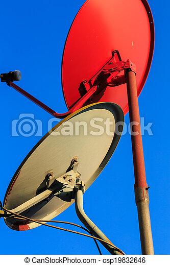 Satellite dishes - csp19832646
