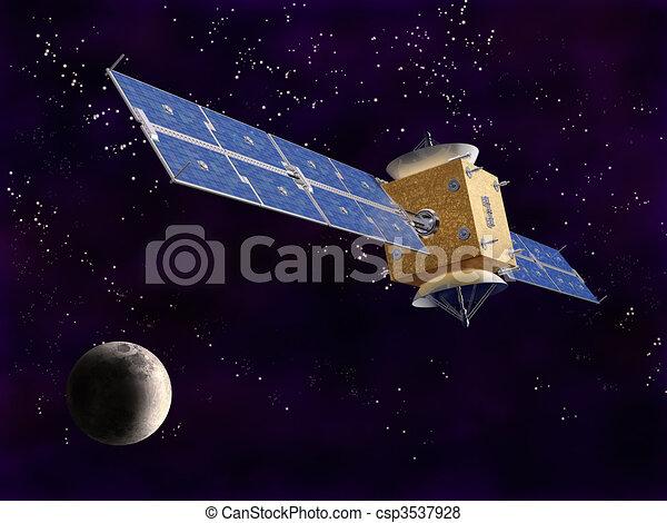 satellite, espace - csp3537928