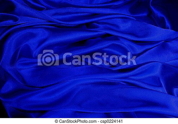 satin bleu - csp0224141