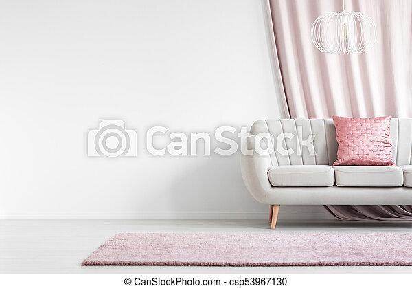 Enjoyable Satin Pillow In Living Room Machost Co Dining Chair Design Ideas Machostcouk