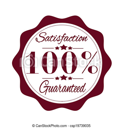 satisfaction guaranteed stamp satisfaction guaranteed grunge stamp rh canstockphoto com satisfaction guaranteed logo vector 100 satisfaction guarantee logo