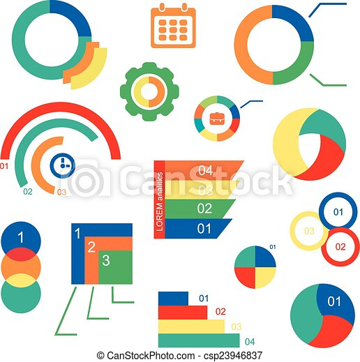 Tabellen Design | Satz Tabellen Abbildung Vektor Infographics Dein Diagramme