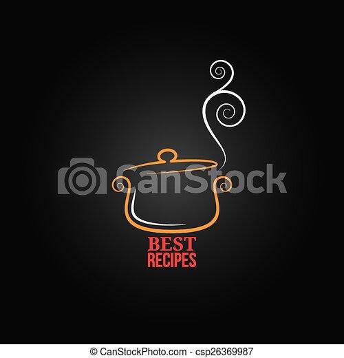 saucepan ornament background - csp26369987
