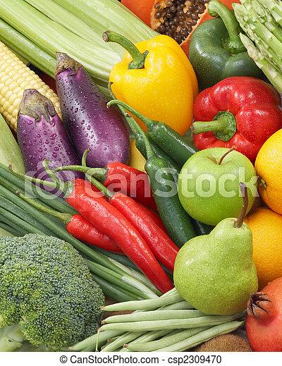 saudável, alimentos - csp2309470