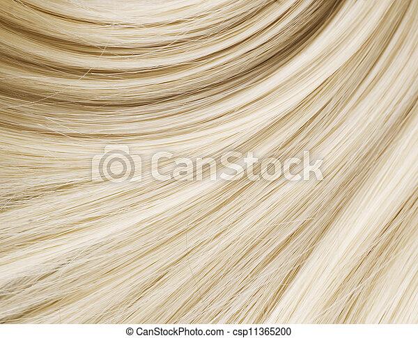 saudável, cabelo, loura - csp11365200