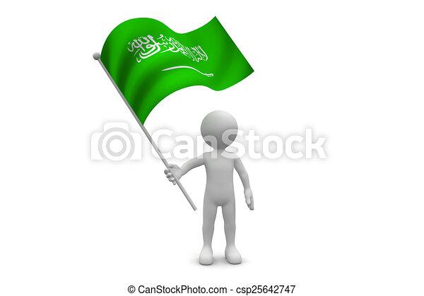 Saudi Arabia Flag - csp25642747