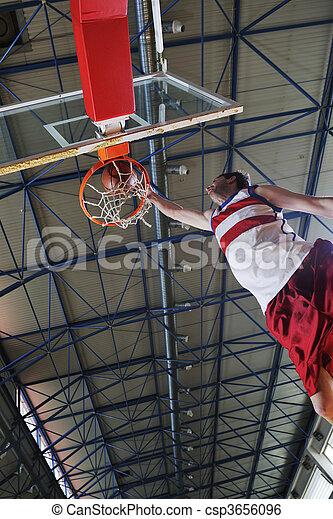 saut, basket-ball - csp3656096