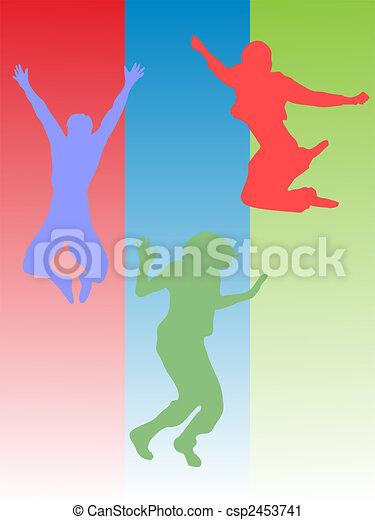 sauter, adolescent - csp2453741