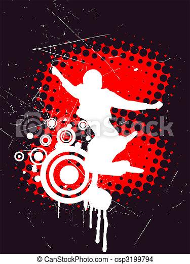 sauter, adolescent - csp3199794