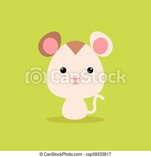 Sauvage mignon dessin anim hamster mignon vert - Hamster dessin anime ...