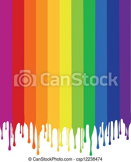 savanyúcukorka, vektor, festmény, színes - csp12238474