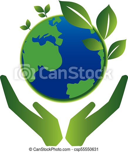 save earth green planet concept rh canstockphoto com save water save earth clipart save earth hands clipart