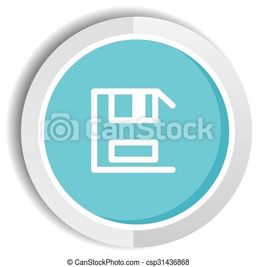 save icon button - csp31436868