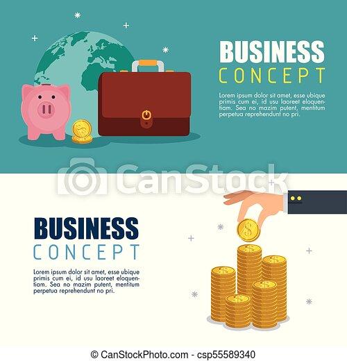 save money concept - csp55589340