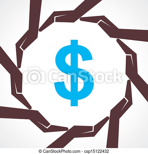 Save money concept - csp15122432