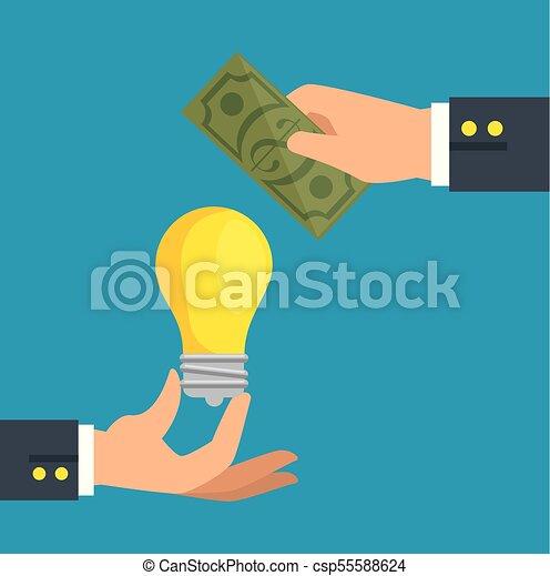 save money concept - csp55588624