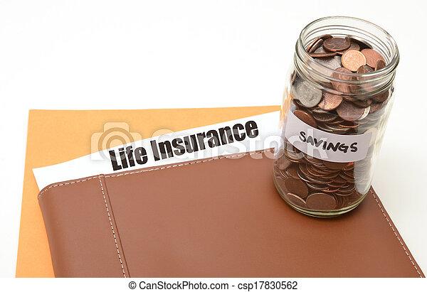 save money on life insurance - csp17830562