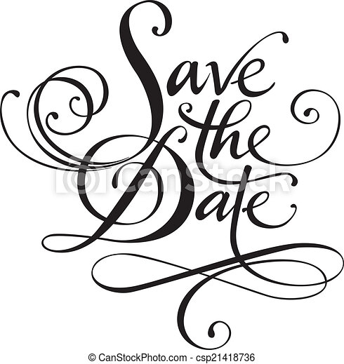 Save the Date - csp21418736