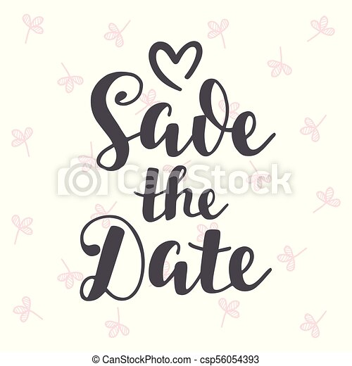 save the date vintage hand written lettering wedding eps vectors rh canstockphoto ie save the date clipart free download free clipart for save the date cards