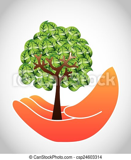 save the forest design vector illustration eps10 graphic