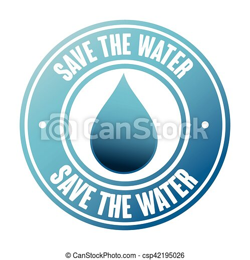 save the water seal vector illustration design vector illustration rh canstockphoto com seal victory age of wonder 3 seal victoria's secret