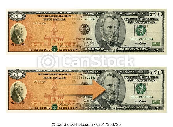 50 Dollar Bill Clipart
