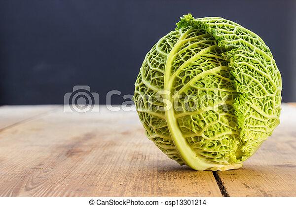 Savoy cabbage - csp13301214