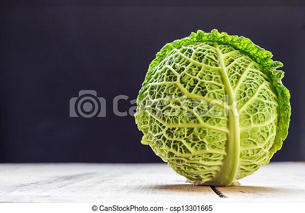 Savoy cabbage - csp13301665