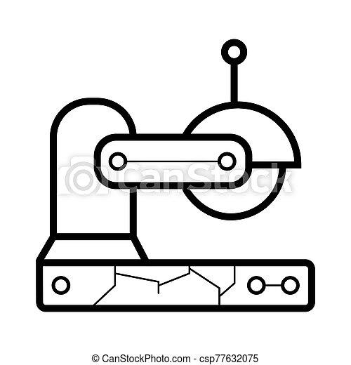 saw icon. saw vector illustration - csp77632075