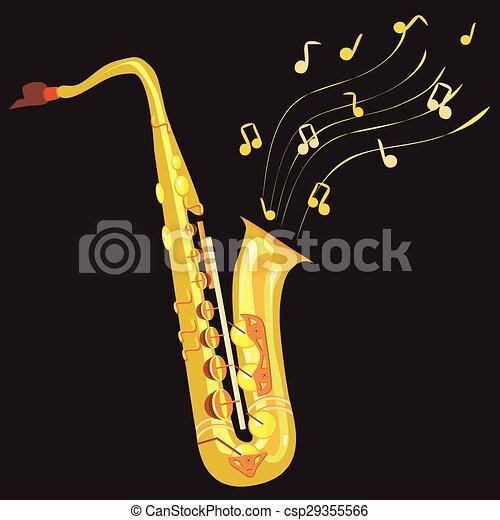 saxophone - csp29355566