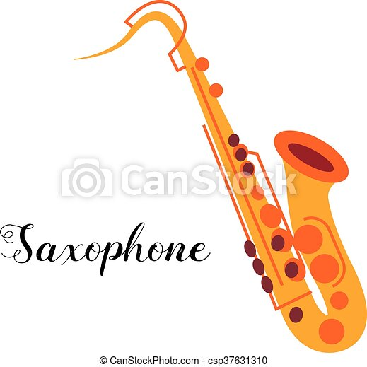Saxophone musical instrument - csp37631310