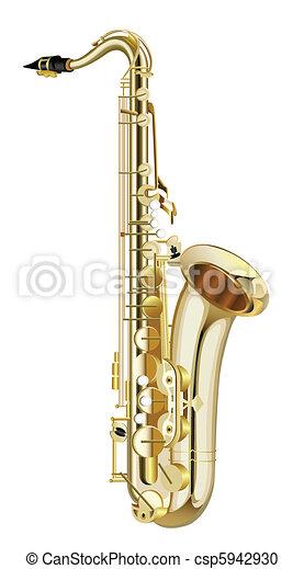 saxophone - csp5942930