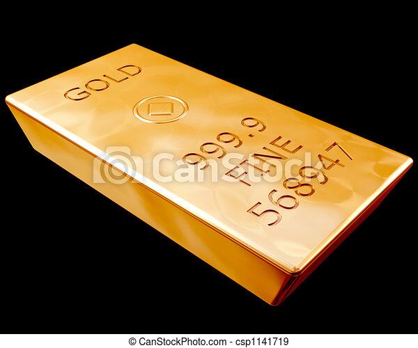 sbarra, puro, oro - csp1141719