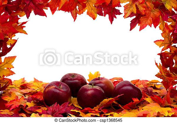 scène, automne - csp1368545