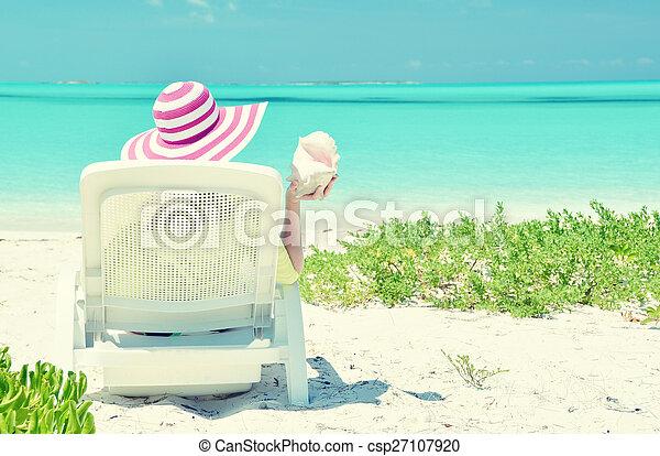 scène plage - csp27107920