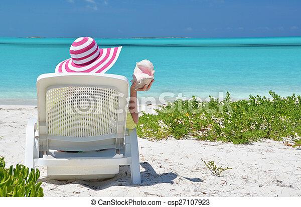 scène plage - csp27107923