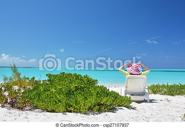 scène plage - csp27107937