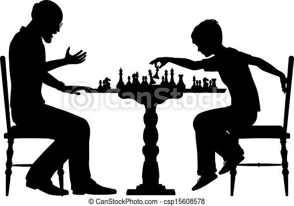 scacchi, prodigio - csp15608578