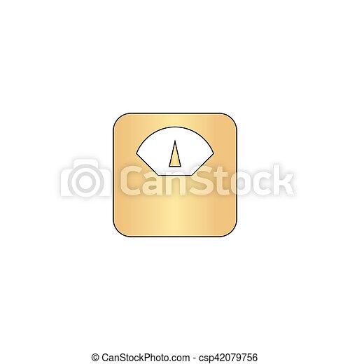 scales computer symbol - csp42079756