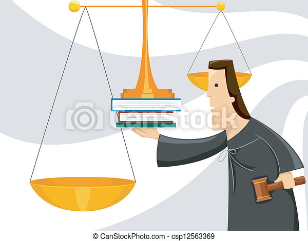 Scales of Justice - csp12563369